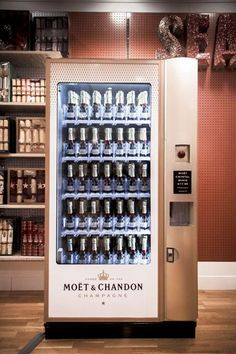 Moët & Chandon Vending Machine | AnOther Loves