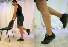 Flexion extension du mollet