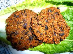 Chipotle Organic Black Bean, Yam, and Quinoa Burger (Vegan, Gluten free, Soy free, Nut free, Corn free)
