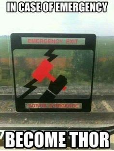 This very reasonable response to an emergency.