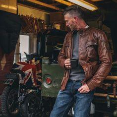 Belstaff Leather Jacket, Belstaff Jackets, Leather Jackets, Work Fashion, Mens Fashion, Style Fashion, Field Jacket, Best Jeans, Dress Codes