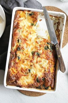 """Spinach and Potato Bake Spinach and Potato Bake,Side dish recipes Spinach and Potato Bake by ginnymegs – """"Great recipe, worth the effort or though not at all hard to make. Side Dish Recipes, Veggie Recipes, Great Recipes, Vegetarian Recipes, Dinner Recipes, Cooking Recipes, Healthy Recipes, Dog Recipes, Beef Recipes"""