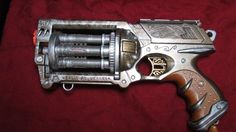 Holy rcap!  I am soooo doing this next time I see this nerf gun in Goodwill!!!! steampunk gun mod primitus