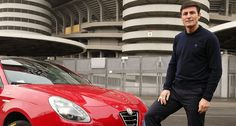 Alfa Romeo by the side of J. Zanetti, as Top Patner of 'Zanetti and Friends Match for Expo Milano 2015'!