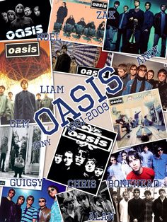 Oasis collage