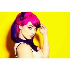 Skye Sweetnam. Love her hair.