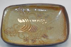 TaoFire candy dish with imprint pattern