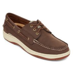 St. John's Bay®  Mens Basin Oxford Boat Shoes  found at @JCPenney