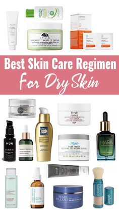 Skin Care Regimen For Sensitive Skin - Typically the lengthy regimen presented American women using the basic scaffolding to generate thei. Best Skin Care Regimen, Skin Regimen, Antioxidant Serum, Dry Skin On Face, Dry Skin Remedies, Alcohol Free Toner, Hormonal Acne, Normal Skin, Pregnancy