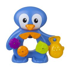Amazon.com: FUN Bath Toys For Toddlers - Interactive and Educational Bath Time Toy! Non-toxic, Bright Colors, Safe! Best Bath Toy for Kids By Zig Zag Kid! Fun Penguin Children's Bath Tub Toys - For Girls & Boys: Baby