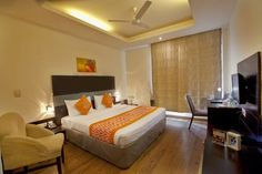 Book Hotels near Gurgaon Near Airport, Gurgaon & Save up to Price starts OYO Promises ✅Complimentary Breakfast ✅Free Cancellation ✅Free WiFi ✅AC Room ✅Spotless linen & ✅Clean Washrooms. Stay Cool, Best Budget, Best Location, Free Wifi, Budget Hotels, Bed, Room, Furniture, Awesome