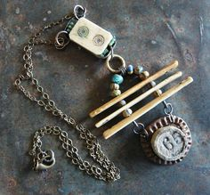 Gaming Necklace by fuzzerbee on Etsy, $70.00