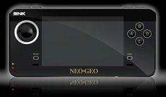 Handheld Neo Geo X.