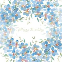 Birth Day QUOTATION – Image : Quotes about Birthday – Description Victoria Nelson – birthday blue watercolour copy.jpg Sharing is Caring – Hey can you Share this Quote ! First Birthday Party Favor, Happy Birthday Flower, Happy Birthday Pictures, Birthday Fun, Happy Birthday Wishes Cards, Happy Birthday Quotes, Happpy Birthday, Birthday Posts, Happy B Day