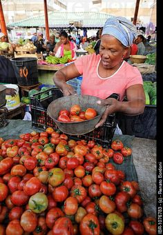selling tomatoes at the market, Cape Verde Liberia, Cape Verde Food, Ghana, Cap Vert, Half The Sky, West Africa, Archipelago, People Around The World, Farmers Market