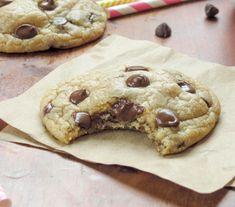 Soft-Baked Chocolate Chip Cookies {My Favorite} - Sprinkle Some Sugar