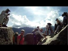 Wayna Picchu Stairs of Death - YouTube