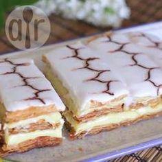 Cómo hacer pastel mil hojas @ allrecipes.com.mx