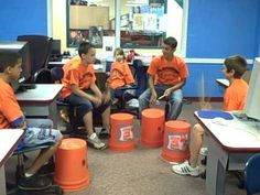 So cool! Bucket band, the easiest and most fun music activity for middle school kids.
