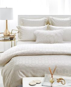White Goose Down Duvets - Au Lit Fine Linens Cream Bedding, Linen Bedding, Brown Bed Linen, Between The Sheets, Best Bedding Sets, Romantic Bedding Sets, Romantic Beds, Neutral Bedding, Organizers