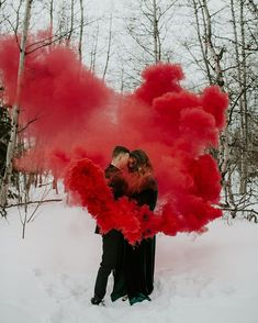 Montana engagement session with smoke bomb. Red smoke grenade photo shoot -Macy … Montana engagement session with smoke bomb. Smoke Bomb Photography, Couple Photography, Engagement Photography, Wedding Photography, Wedding Photoshoot, Wedding Shoot, Dream Wedding, Wedding Ideas, Engagement Pictures