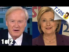 Chris Mathews Slams Bernie While Pretending To Interview Hillary - 1 of 2 - YouTube Chris Mathews interviewed Hillary Clinton and instead of doing journalism condescended to Bernie Sanders and his supporters, demonstrating why he is so successful at being an establishment propagandist.