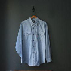 Vintage Denim Shirt by Levi's   #BureauOfTrade