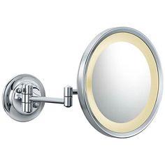 Aptations Chrome LED 5X Magnifying Makeup Mirror