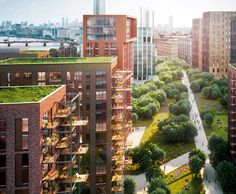 Embassy Gardens Development by the Ballymore Group, Camlins, and Sir Terry Farrell