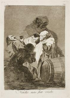 """Francisco de Goya: """"Nadie nos ha visto"""". Serie """"Los caprichos"""" [79]. Etching, aquatint and burin on paper, 212 x 150 mm, 1797-99. Museo Nacional del Prado, Madrid, Spain"""