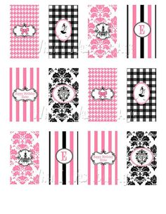 Eloise Party Mini Candy Bar Wrappers by WhenIWasYourAge on Etsy