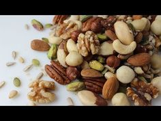 Types of Nuts and Seeds and Their Health Benefits - YouTube