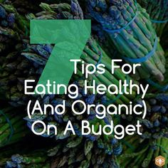 Smart Health Talk Pick: 7 Tips For Eating Healthy (And Organic) On A Budget.  Eating healthy and organic is not as expensive as you might think. Here are some clever strategies for eating wholesome foods on a tight budget. If you would like to hear more from Maryam Henein, Vanishing of the Bees, she joined us several times on Smart Health Talk. http://www.smarthealthtalk.com/podcast-vanishing-bees.html