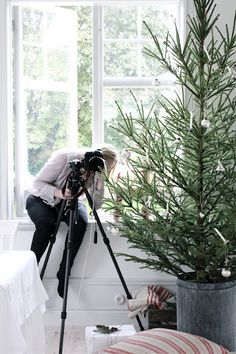♥...he bought her a beautiful camera...so she could follow her dreams and start capturing  new memories...good ones.