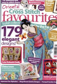 Oriental designs Cross Stitch favorites Spring 2012