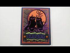 Halloween Card #2 Spooky Happy Owl-O-Ween