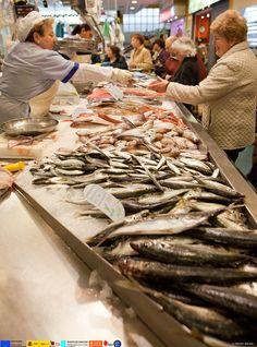 Mercado de As Travesas  Vigo  Spain