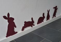 Schnelle Flur Ostern Dekoration mit Hase basteln Fast hallway Easter decoration with bunny tinker Happy Easter, Easter Bunny, Easter Eggs, Bunny Bunny, Diy Natal, Diy For Kids, Crafts For Kids, Easter Activities, Easter Holidays