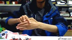 Magician Performs Insane Finger Removing Tricks