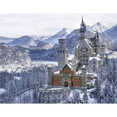 Neuschwanstein Castle Germany | Photography by @melhorestrips #WeLiveToExplore by welivetoexplore