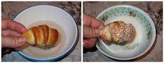 diana's cakes love: Cornulete fragede cu nuca de cocos- in doua culori Diana, Eggs, Breakfast, Egg, Egg As Food