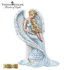 Thomas Kinkade Guardian Angel Of Boundless Love Figurine