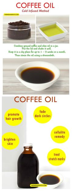 Coffee oil - What it is, what it's good for, and how to make
