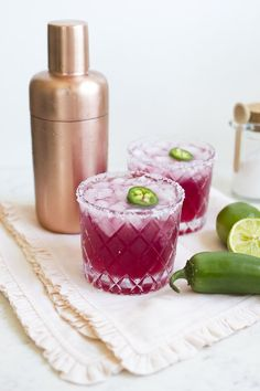 Spicy Pomegranate Margarita Recipe