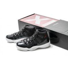 7d42cb8282b6d2 Womens Air Jordan 11 (XI) Retro 72-10 Black Gym Red-. Jordans For SaleCheap  ...