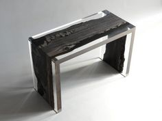 Filling the Void: 25 Resin-Inlaid Wood Furniture Designs Become Whole Again | Urbanist