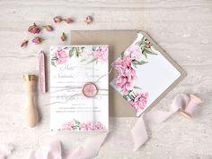 Zaproszenia ślubne botaniczne #decoris #peony #peonywedding #peonie #roz #pinkwedding #weddingflowers #winietki #tableplan #bridetobe #weddinginvitations #zaproszenia #zaproszeniaslubne #zaproszenianaslub #slubnezaproszenia #peonie #peonia #motyw #przewodni