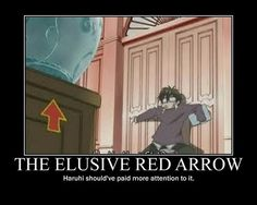 Duh gosh Haruhi get with it haha, at first I thought it was part of the set until later one its used in different episodes