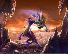 Spyro VS. Grublin