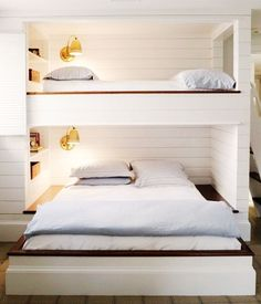The Most Beautiful Bunk Beds We've Ever Seen via @MyDomaine